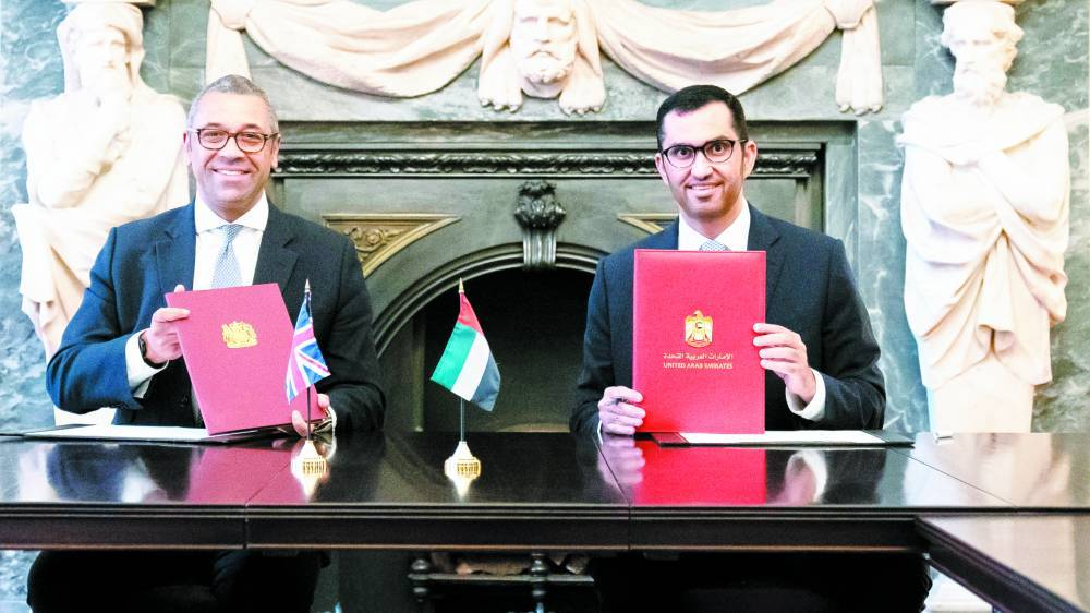 United Arab Emirates and the United Kingdom sign an agreement to improve climate and environmental cooperation