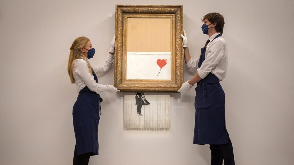 Video: Up to $ 8 million .. Torn bank painting re-launched for sale
