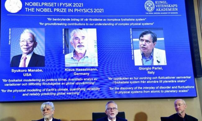 Nobel Prize in Physics: Three scientists receive prize for research on human impact on Earth and climate