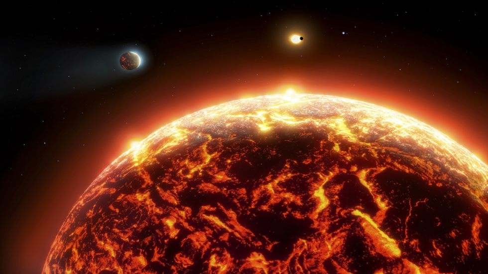 The amazing discovery of the Burning Exo Planet