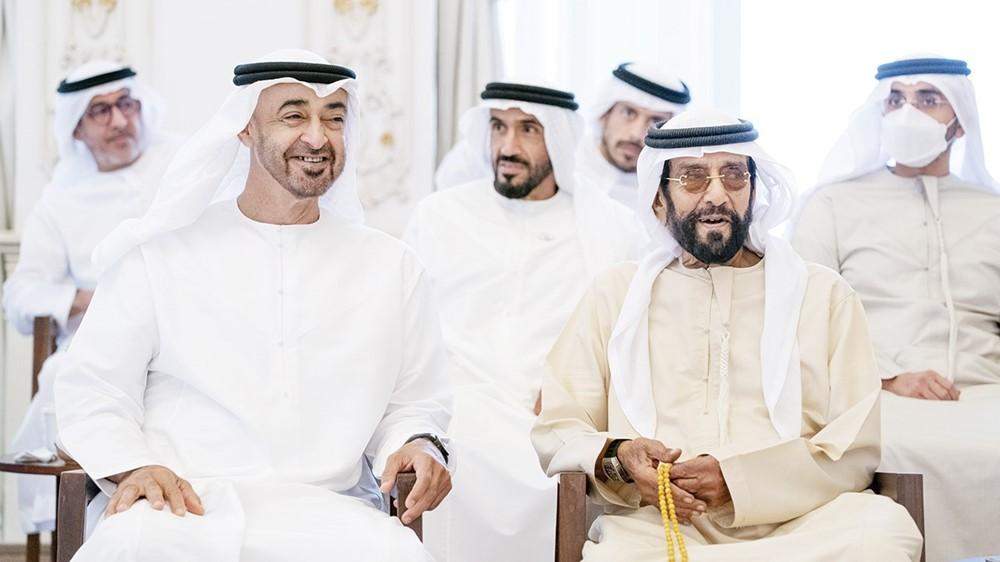 Mohammed bin Saeed, Tahnoon bin Mohammed, Nahayan bin Saeed and Sultan bin Tahnoon