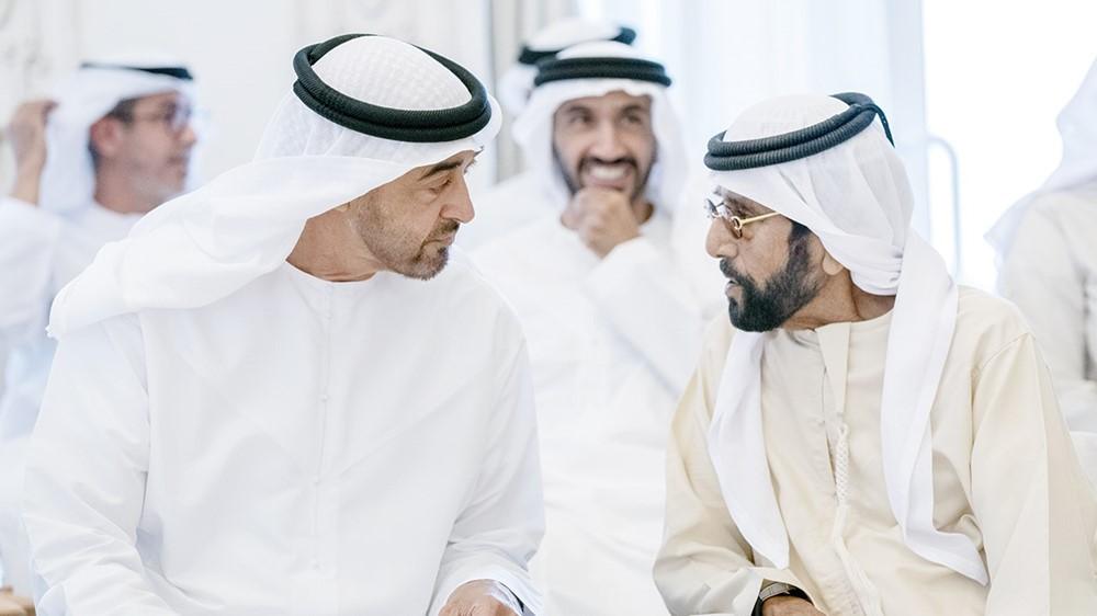 In an interview with Tahnun bin Mohammed in the presence of Mohammed bin Saeed Nahyan bin Saeed