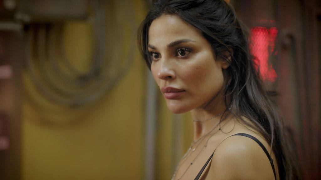 Nadine Njeim in Zahra Salon on MBC4 is tough and cruel
