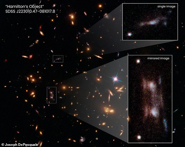 Astronomers have accidentally discovered a new galaxy 11 billion light years away from Earth