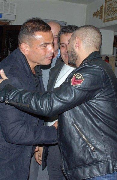 Amr Diab and Damer Hosni