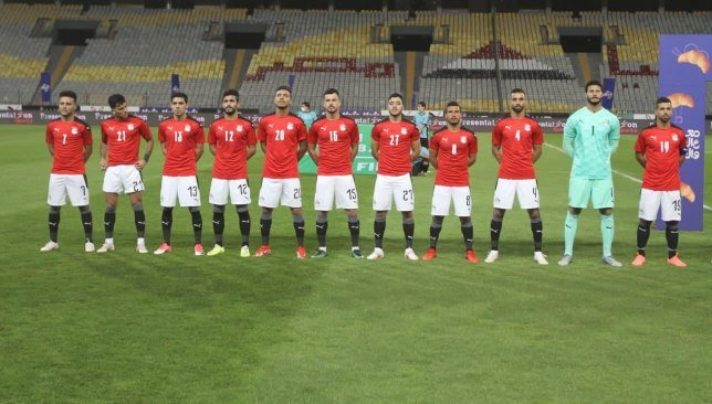 Egyptian national team line-up for today's match against Libya in the 2022 World Cup qualifiers