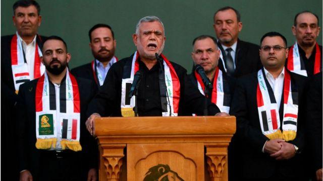 Hadi al-Amiri, leader of the Fatah movement