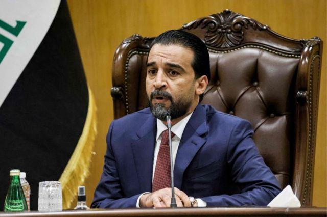Speaker of Parliament Mohammed Al-Halboosi