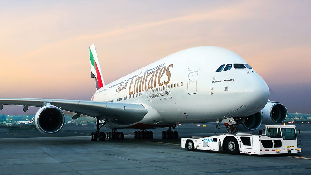 As of October 28, 430,000 passengers are arriving in Dubai on Emirates Airlines flights