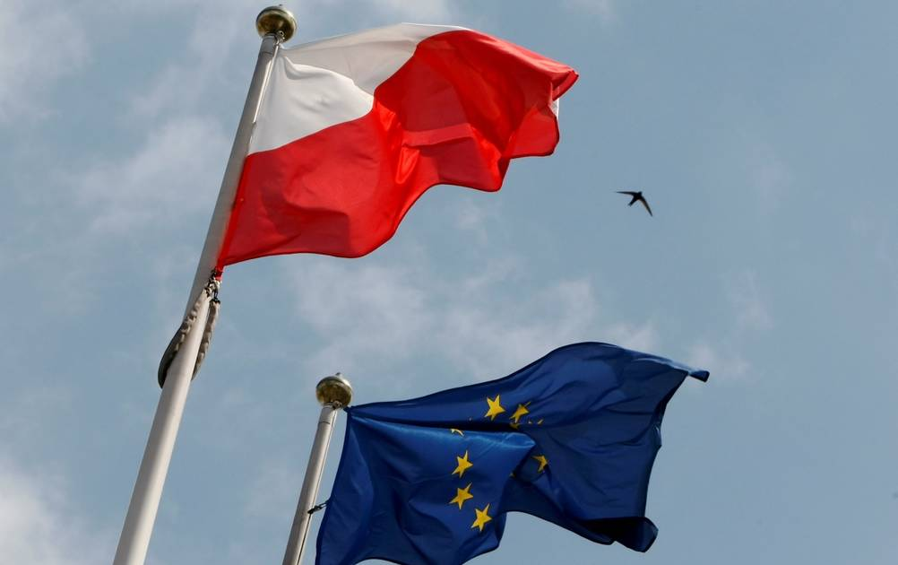 Demonstrations in support of EU membership in Poland on Sunday