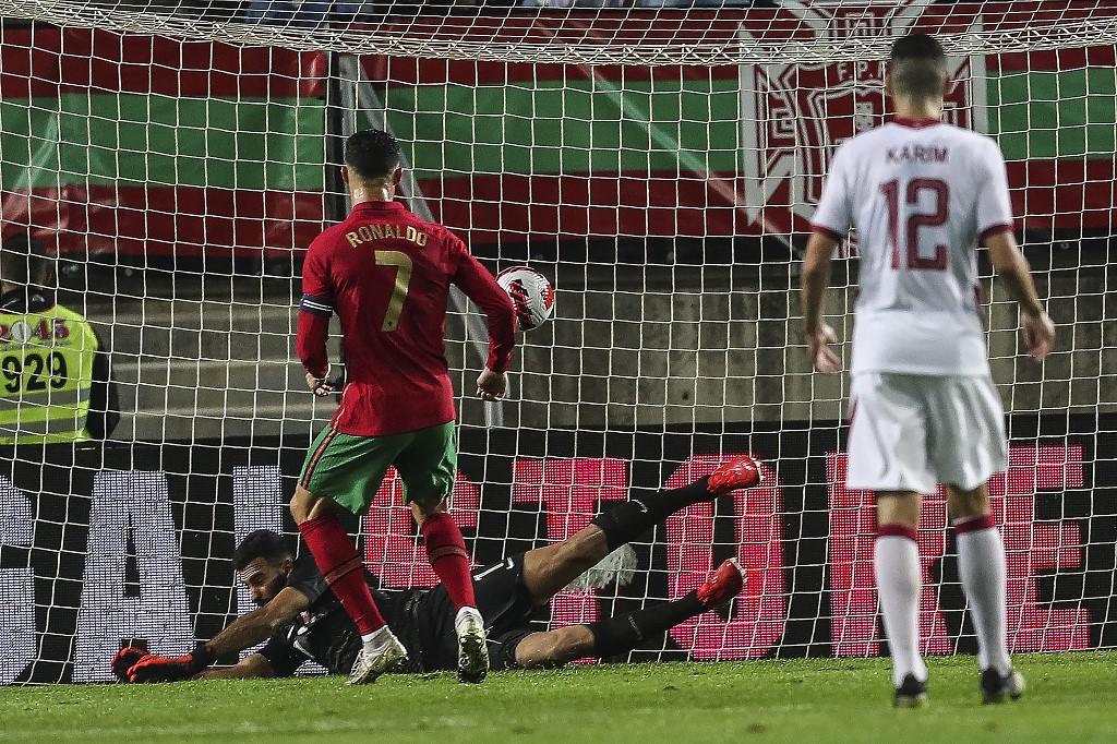 Ronaldo breaks new record against Qatar