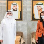 Saeed Al Dyer discusses with US embassy partnership in the field of renewable energy