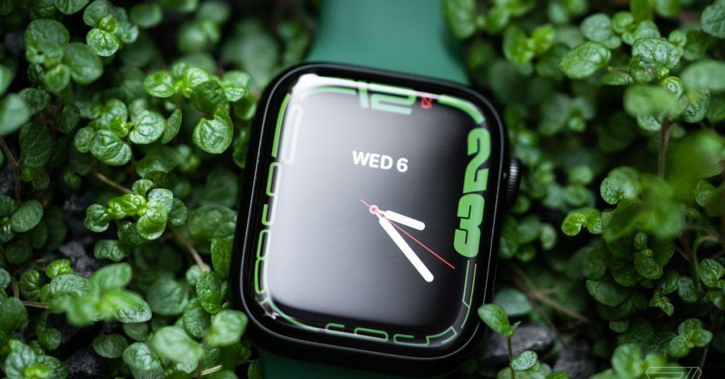 The Apple Watch Series 7 officially assigns a hidden detection port