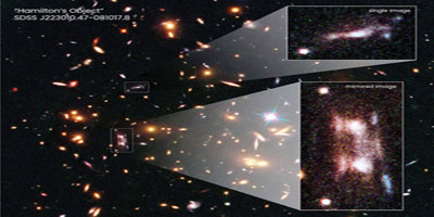 """The discovery of a galaxy """"accidentally"""" 11 billion light-years from Earth"""