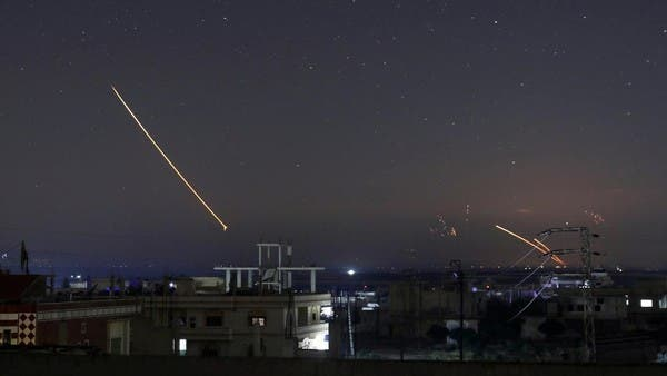 """The security of the Syrian regime is dealing with """"hostile targets"""" in the skies of Holmes"""