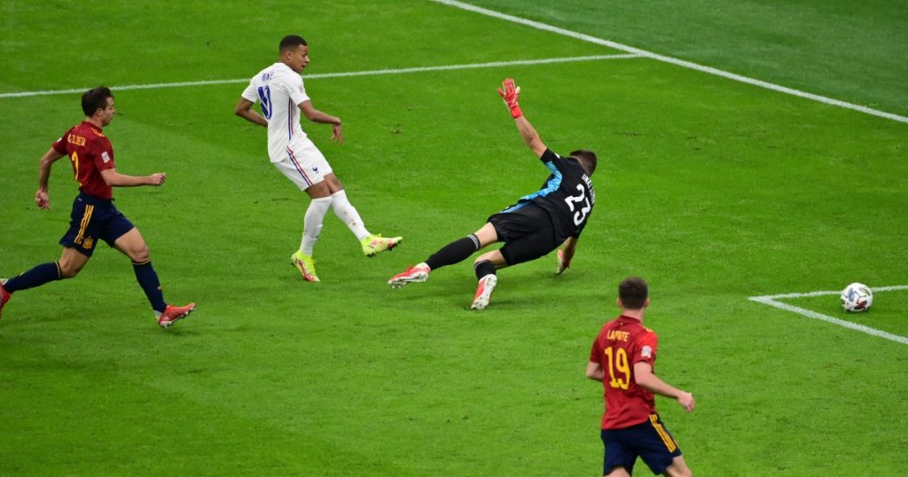 What does football law tell us about Mbappe's controversial goal in France's victory over Spain?  |  Football