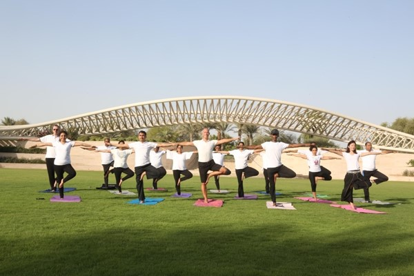 Yoga and Meditation for Mental Health at Umm Al Emarat Park